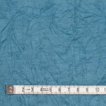 ウール×無地(チョークブルー)×天竺ニットワッシャー_全4色 サムネイル4