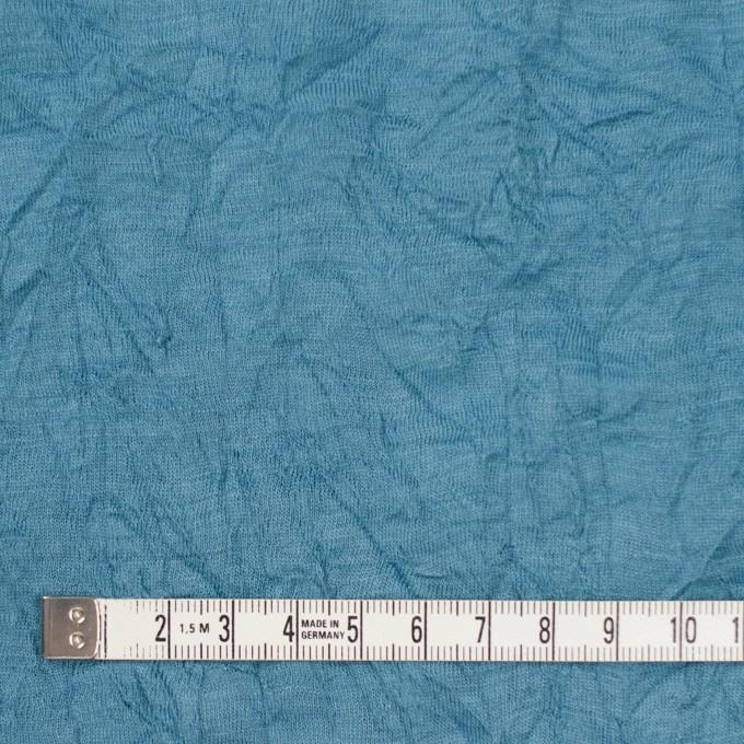 ウール×無地(チョークブルー)×天竺ニットワッシャー_全4色 イメージ4
