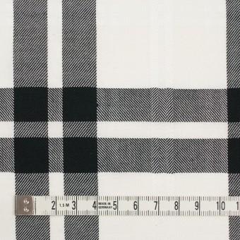 コットン&ポリエステル×チェック(ブラック)×ブロードジャガード サムネイル4