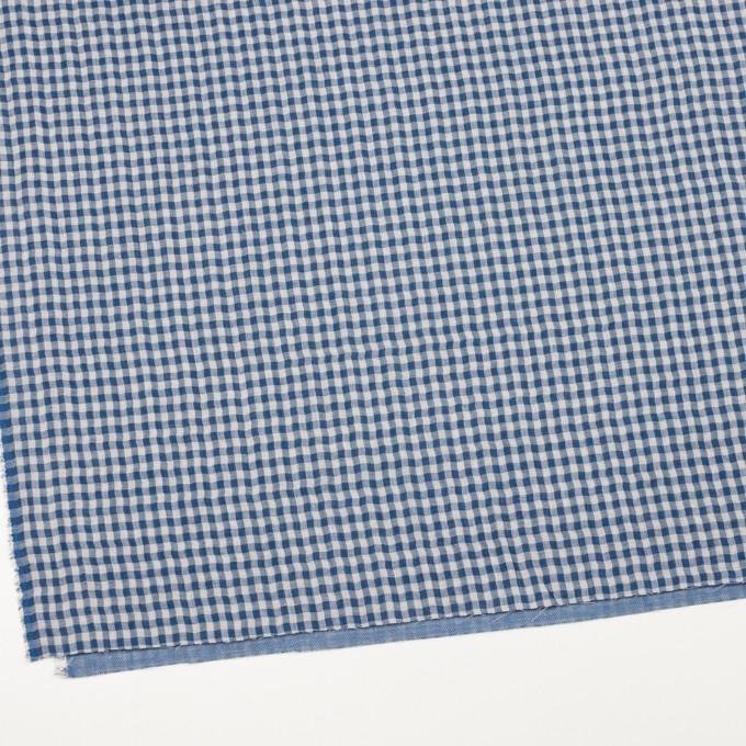 コットン×チェック(ブルー)×ガーゼ&サージ_全2色 イメージ2