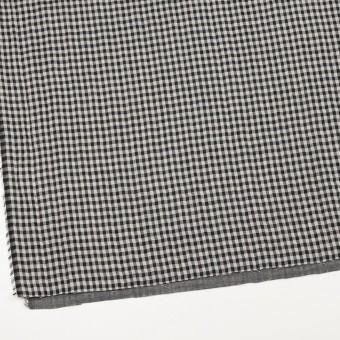 コットン×チェック(ブラック)×ガーゼ&サージ_全2色 サムネイル2