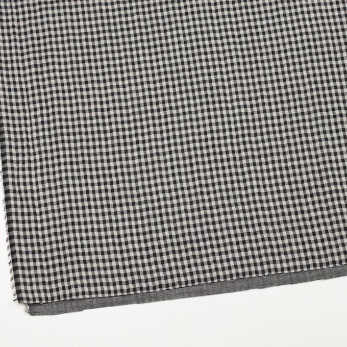 コットン×チェック(ブラック)×ガーゼ&サージ_全2色 イメージ2