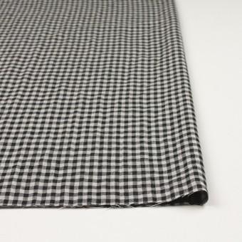 コットン×チェック(ブラック)×ガーゼ&サージ_全2色 サムネイル3