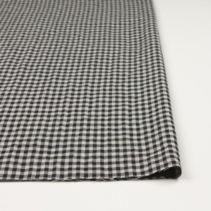 コットン×チェック(ブラック)×ガーゼ&サージ_全2色 イメージ3