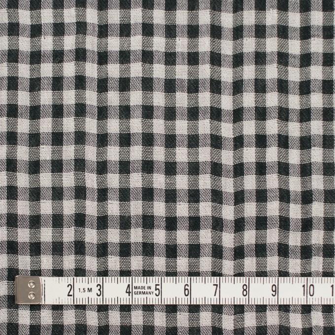 コットン×チェック(ブラック)×ガーゼ&サージ_全2色 イメージ4