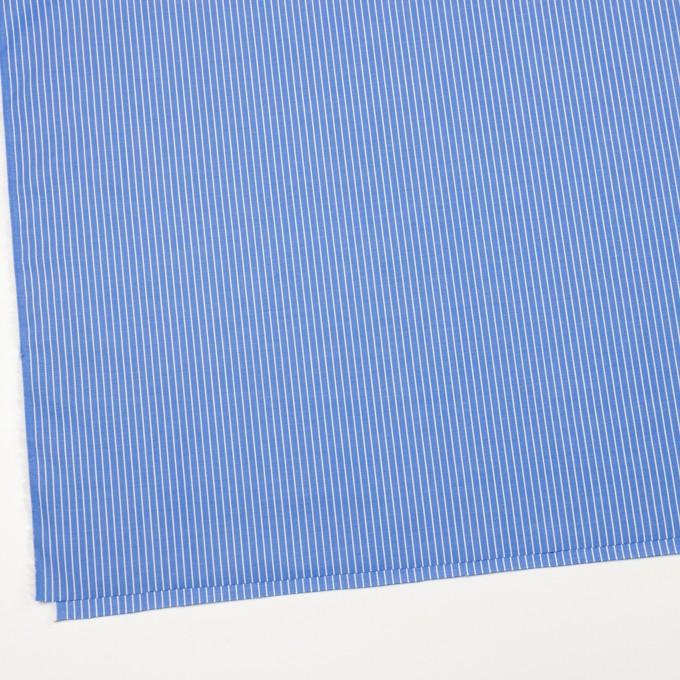 コットン×ストライプ(サックスブルー)×ブロード_全2色 イメージ2