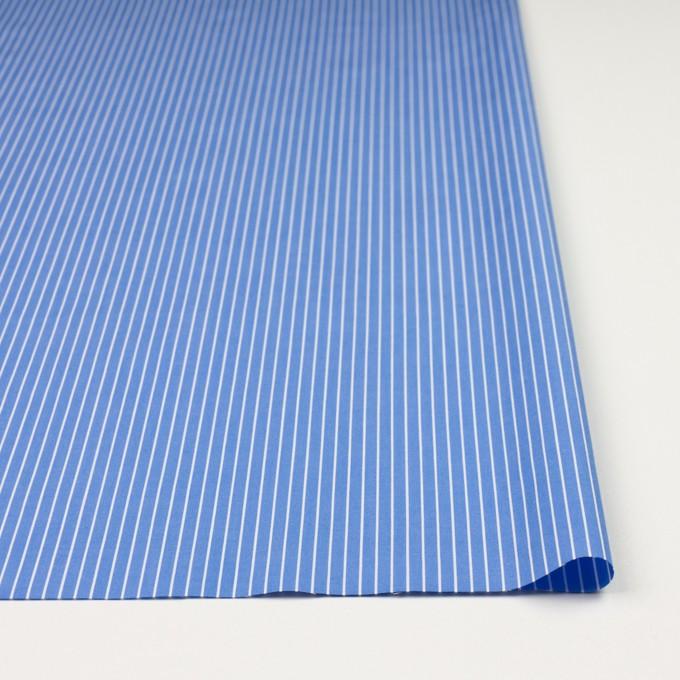 コットン×ストライプ(サックスブルー)×ブロード_全2色 イメージ3