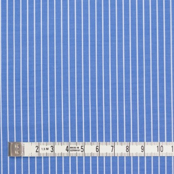 コットン×ストライプ(サックスブルー)×ブロード_全2色 サムネイル4