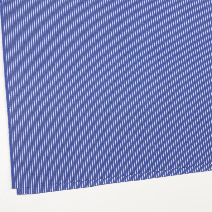 コットン×ストライプ(ヒヤシンスブルー)×ブロード_全2色 イメージ2