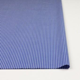 コットン×ストライプ(ヒヤシンスブルー)×ブロード_全2色 サムネイル3