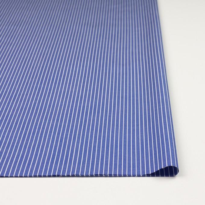 コットン×ストライプ(ヒヤシンスブルー)×ブロード_全2色 イメージ3