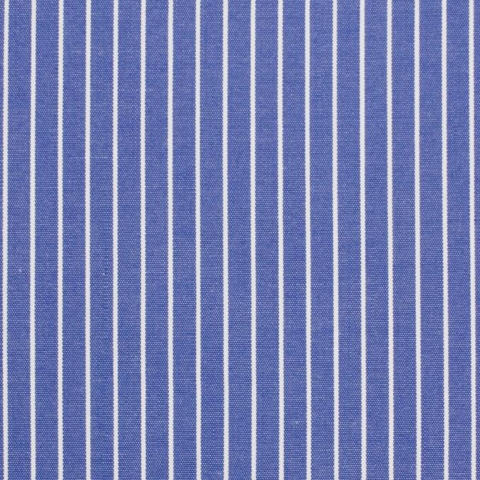 コットン×ストライプ(ヒヤシンスブルー)×ブロード_全2色 イメージ1