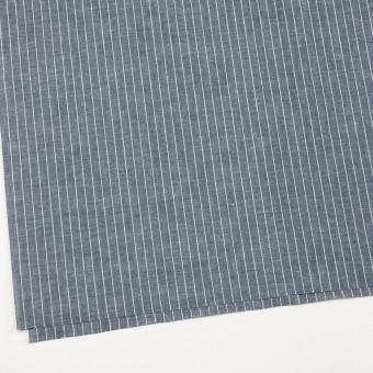 コットン&リネン×ストライプ(ブルーグレー)×薄キャンバス サムネイル2