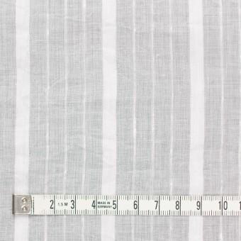 コットン&リネン×ストライプ(オフホワイト)×ボイルジャガードワッシャー サムネイル4