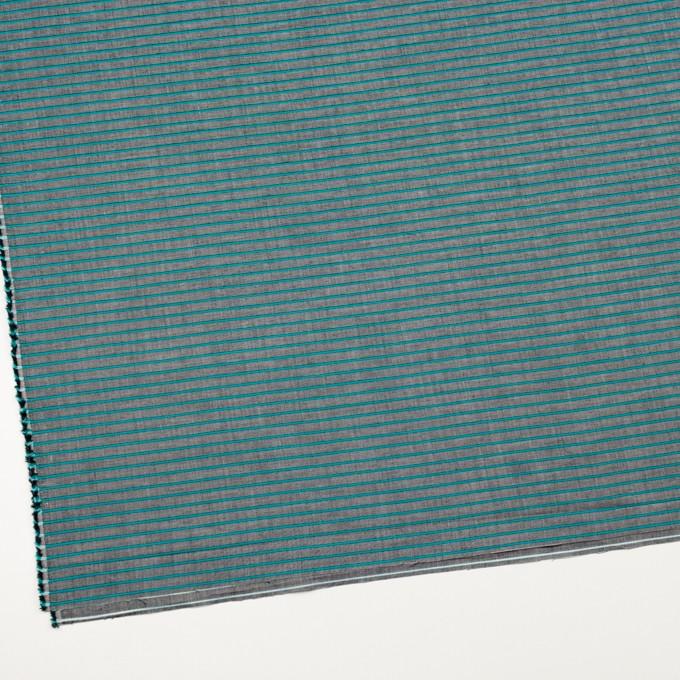コットン×ボーダー(エメラルドグリーン)×コードレーン_全2色 イメージ2
