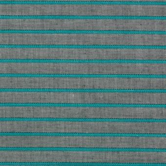 コットン×ボーダー(エメラルドグリーン)×コードレーン_全2色