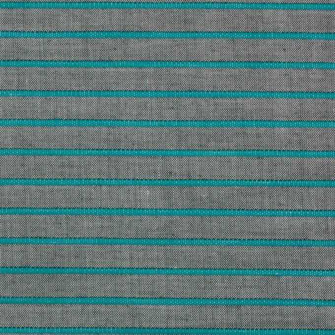 コットン×ボーダー(エメラルドグリーン)×コードレーン_全2色 イメージ1
