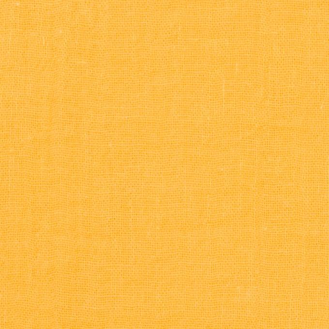 コットン×無地(サンフラワー)×Wガーゼワッシャー_全20色 イメージ1