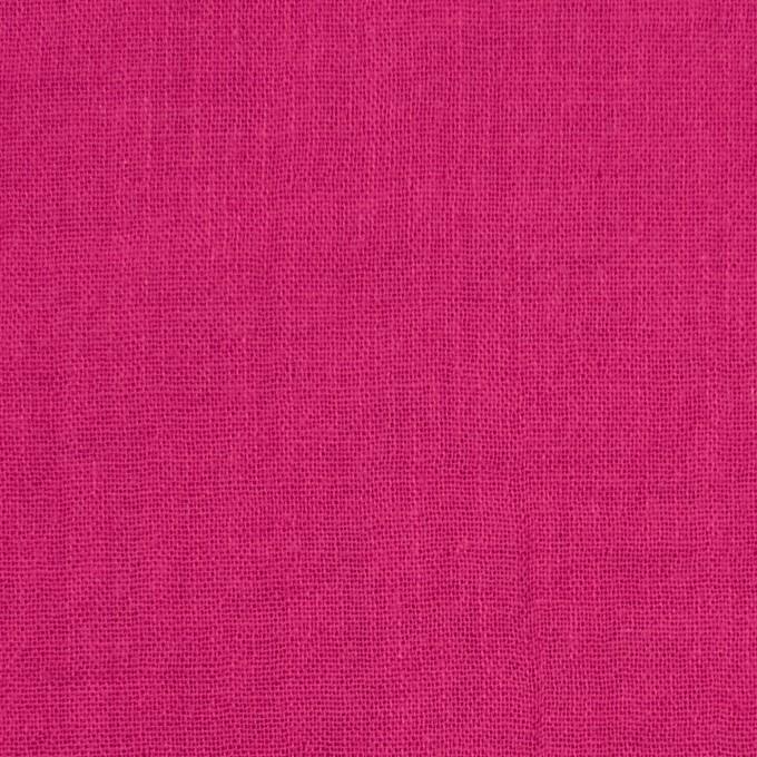 コットン×無地(チェリーピンク)×Wガーゼワッシャー_全20色 イメージ1