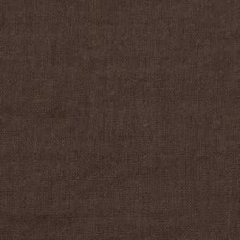 コットン×無地(カーキブラウン)×Wガーゼワッシャー_全20色 サムネイル1
