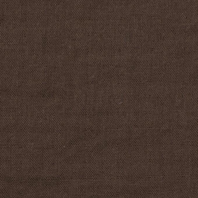 コットン×無地(カーキブラウン)×Wガーゼワッシャー_全20色 イメージ1