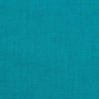 コットン×無地(エメラルドブルー)×Wガーゼワッシャー_全20色