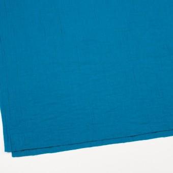 コットン×無地(ターコイズブルー)×Wガーゼワッシャー_全20色 サムネイル2