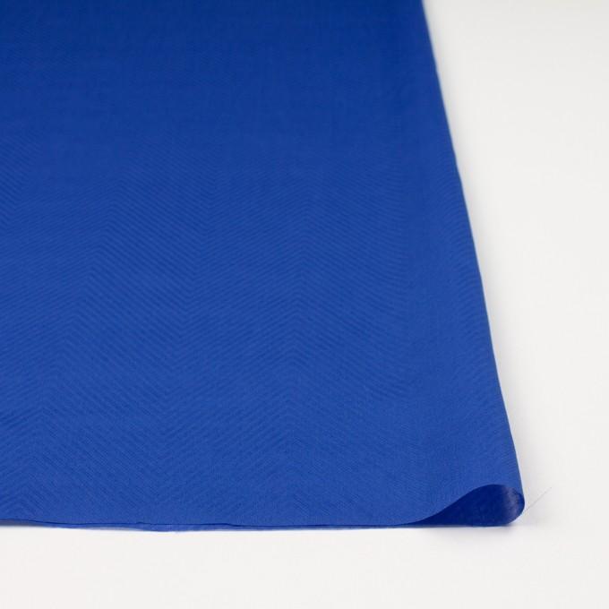 コットン×無地(ロイヤルブルー)×ボイルジャガード_全6色 イメージ3