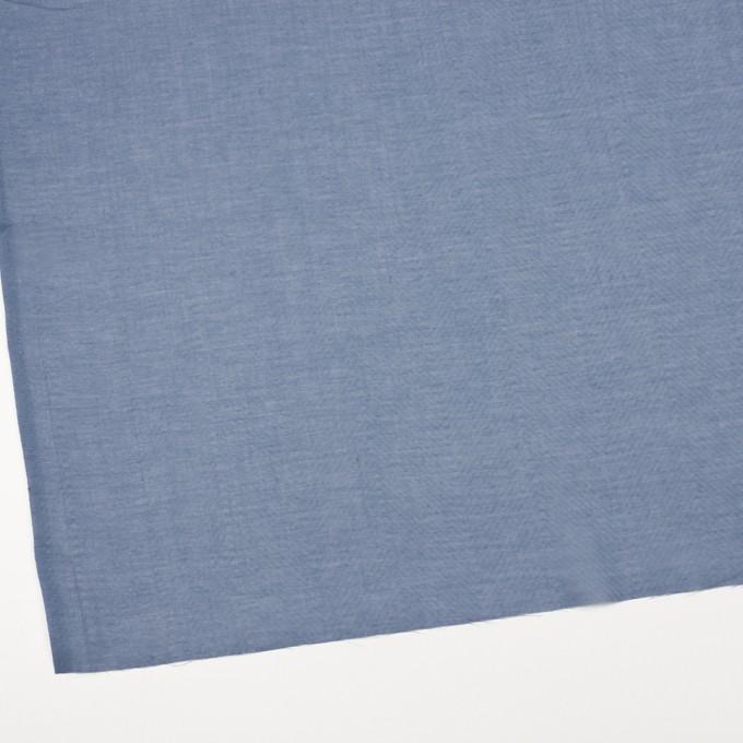 コットン×無地(シャドウブルー)×ボイルジャガード_全6色 イメージ2