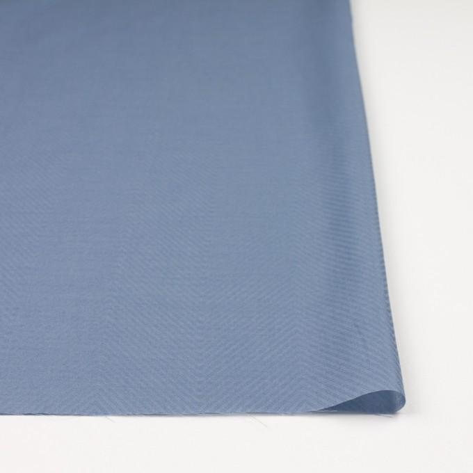 コットン×無地(シャドウブルー)×ボイルジャガード_全6色 イメージ3