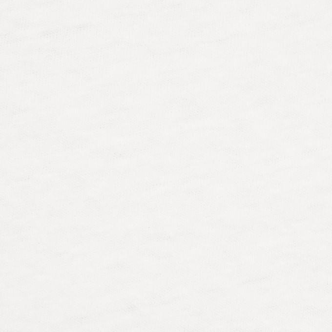 コットン×無地(オフホワイト)×天竺ニット イメージ1