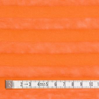 コットン&リネン×ボーダー(キャロット)×天竺ニット_全3色_イタリア製 サムネイル4