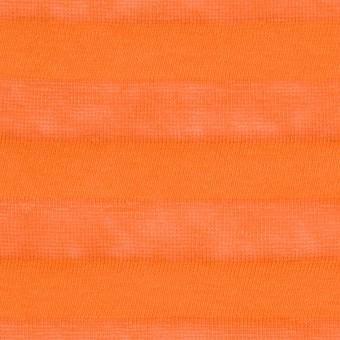 コットン&リネン×ボーダー(キャロット)×天竺ニット_全3色_イタリア製