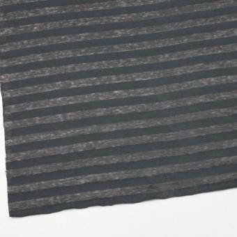 コットン&リネン×ボーダー(グーズグレー)×天竺ニット_全3色_イタリア製 サムネイル2