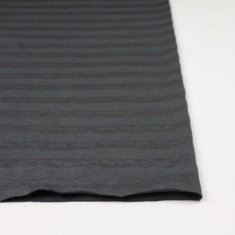 コットン&リネン×ボーダー(グーズグレー)×天竺ニット_全3色_イタリア製 サムネイル3