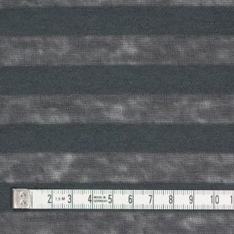 コットン&リネン×ボーダー(グーズグレー)×天竺ニット_全3色_イタリア製 サムネイル4