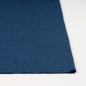 リネン×無地(ブルー)×天竺ニット_全5色 サムネイル3