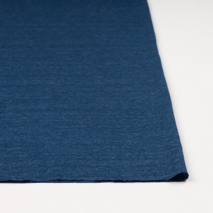 リネン×無地(ブルー)×天竺ニット_全5色 イメージ3