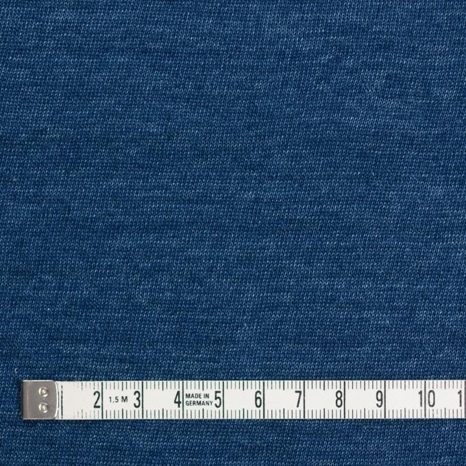 リネン×無地(ブルー)×天竺ニット_全5色 イメージ4