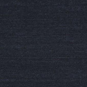 リネン×無地(ダークネイビー)×天竺ニット_全5色 サムネイル1