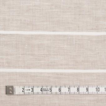 リネン&コットン×ボーダー(キナリ)×サージ サムネイル4