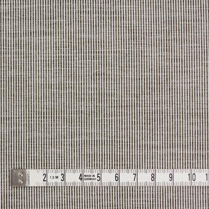 コットン×ストライプ(チャコールグレー)×コードレーン イメージ4
