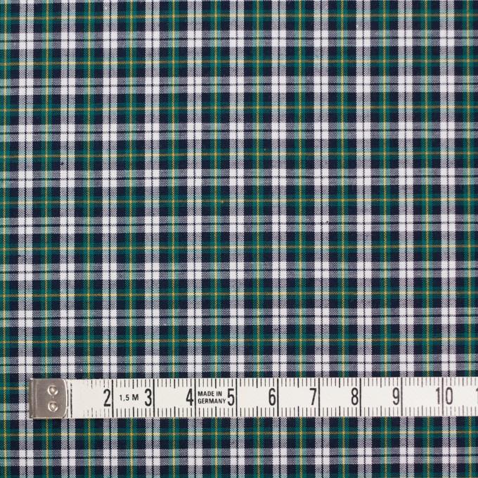 コットン×チェック(イエロー&モスグリーン)×ブロード イメージ4