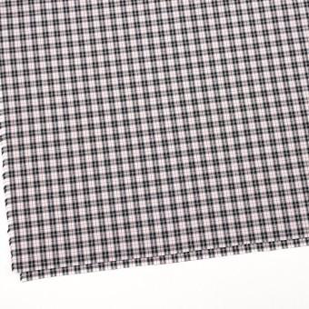 コットン×チェック(レッド&ブラック)×ブロード サムネイル2