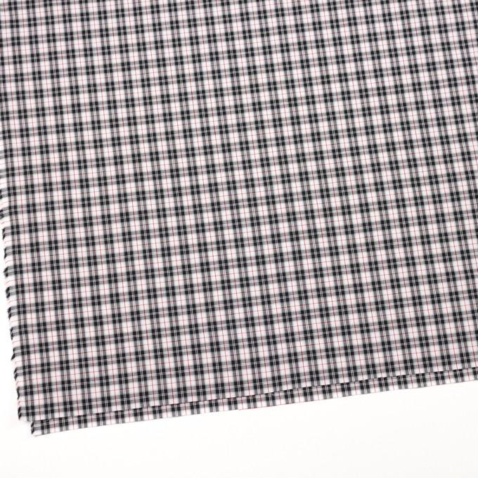 コットン×チェック(レッド&ブラック)×ブロード イメージ2