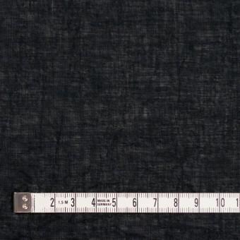 コットン&リネン×無地(ブラック)×ボイルワッシャー_全6色 サムネイル4