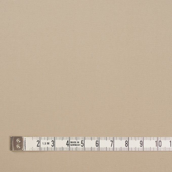 コットン&ポリウレタン×無地(ベージュ)×ギャバジンストレッチ_全4色 イメージ4