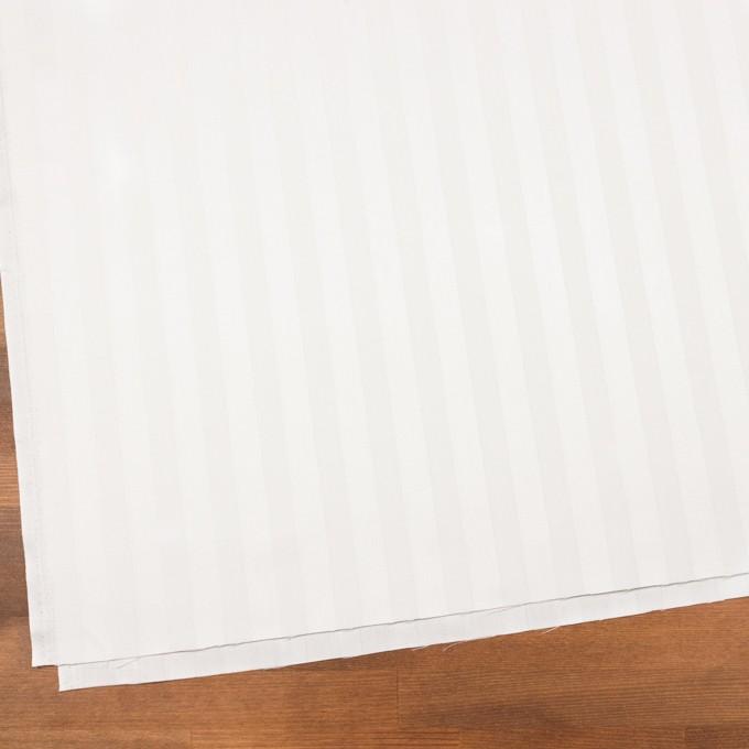 コットン&リネン×無地(ホワイト)×サテンジャガード イメージ2