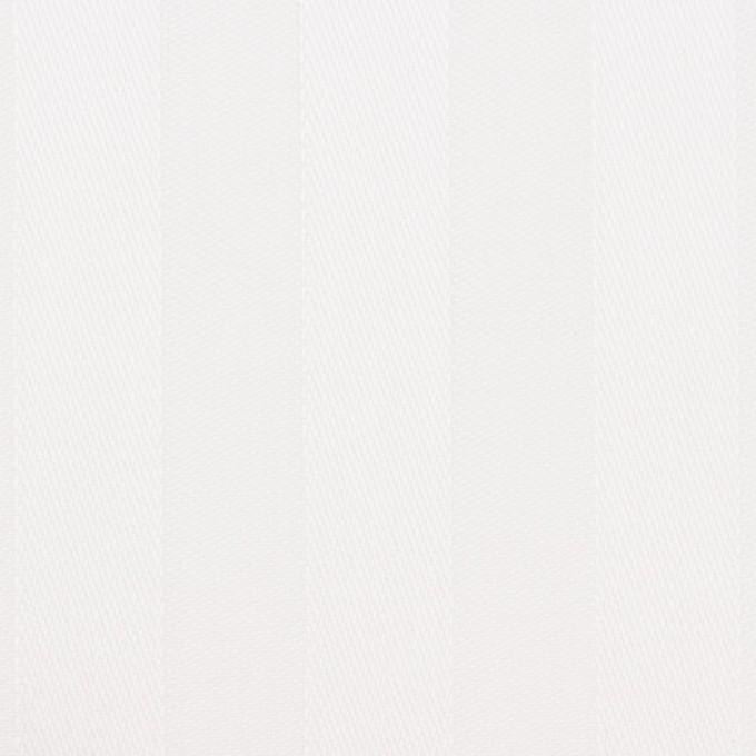 コットン&リネン×無地(ホワイト)×サテンジャガード イメージ1