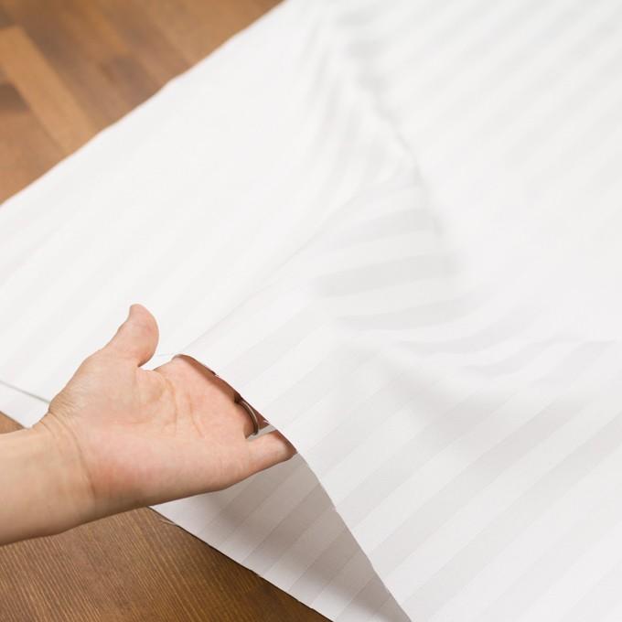 コットン&リネン×無地(ホワイト)×サテンジャガード イメージ5